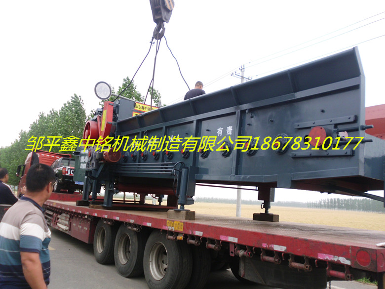 XZM1600-800综合破碎机生产现场2